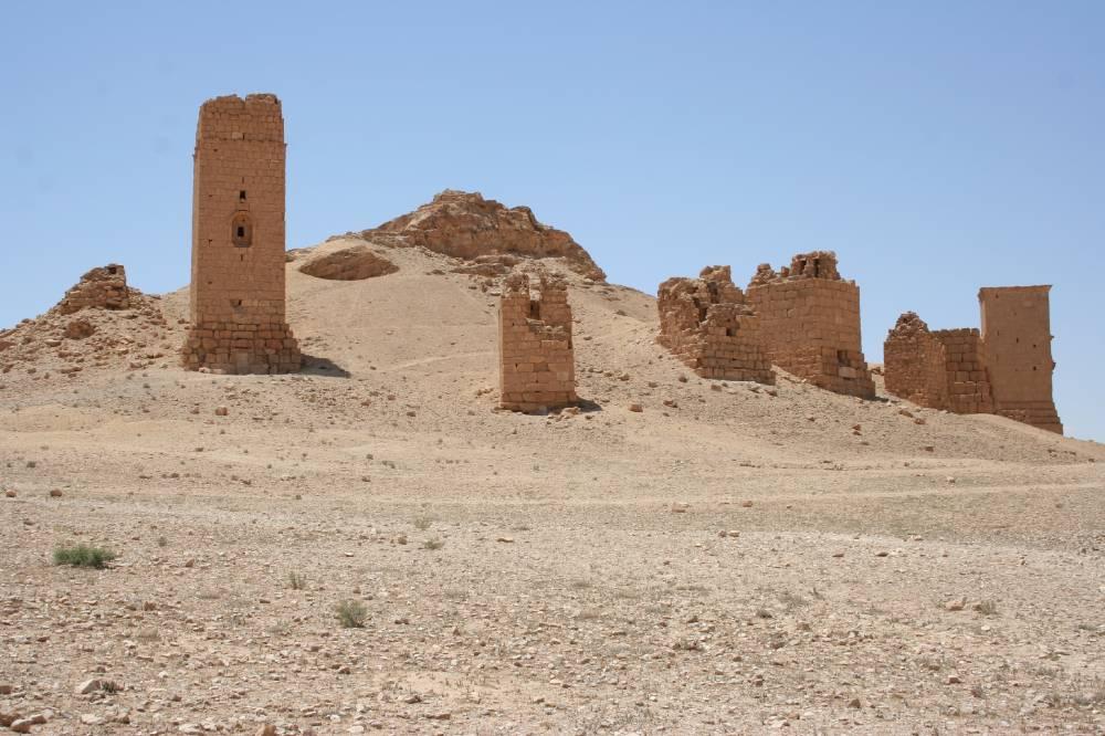 Башни мертвых в Пальмире
