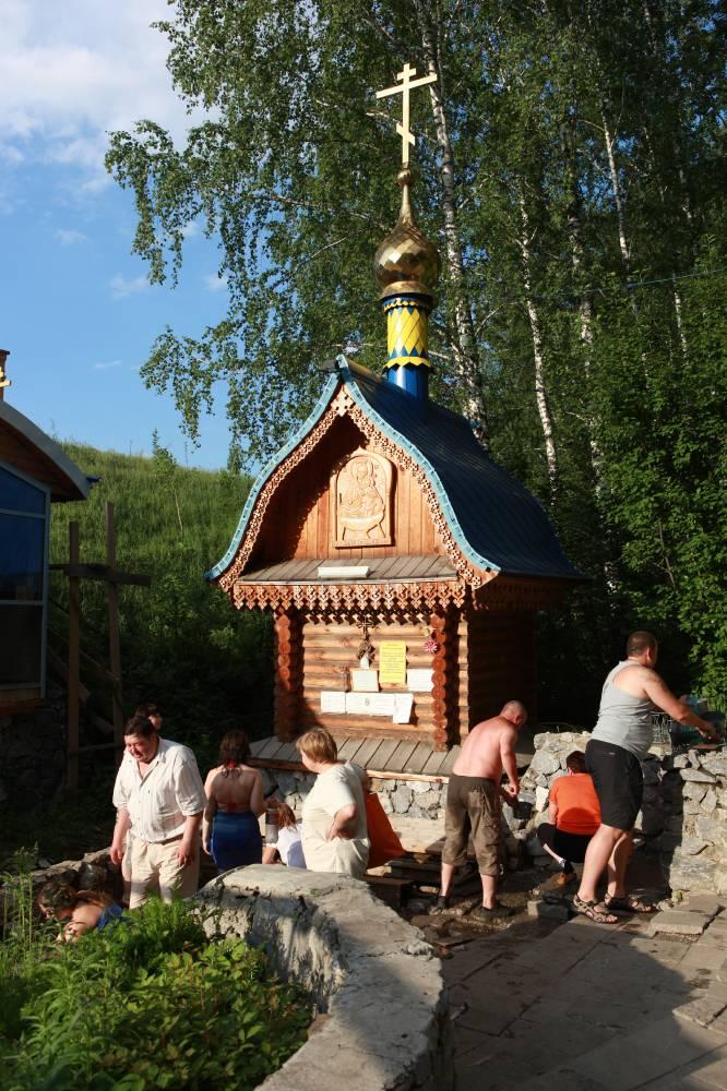 Святой источник, поселок Ложок Новосибирской области