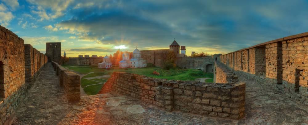 Крепость на священной Девичьей горе