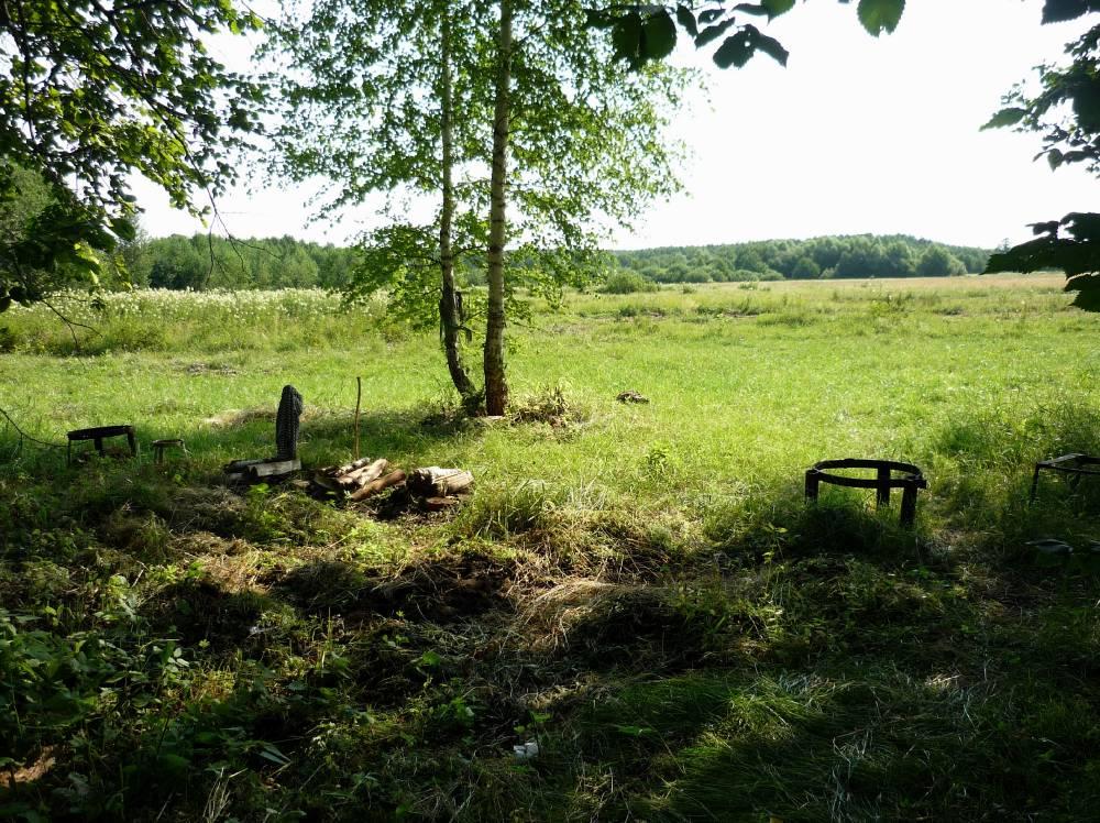 Священная поляна некрещеных чувашей - место проведения моления ӳчӳк