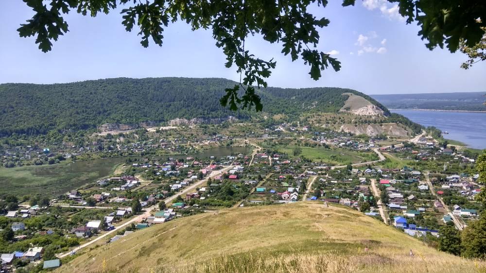 c. Ширяево, вид с монастырской горы
