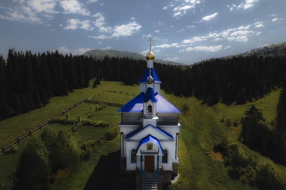 Церковь, Село Чоя, Республика Алтай