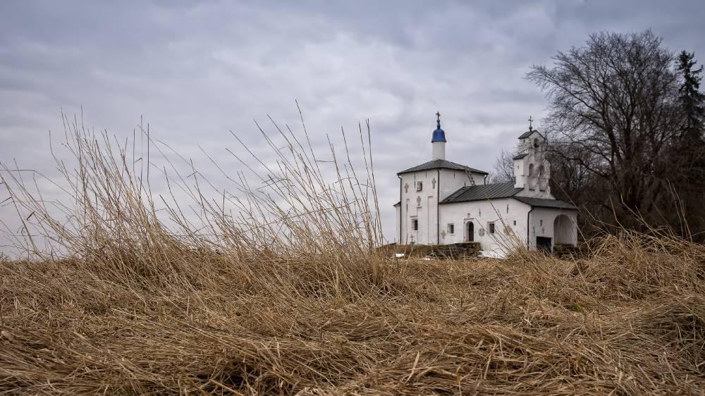 Труворово городище и церковь Николя Чудотворца