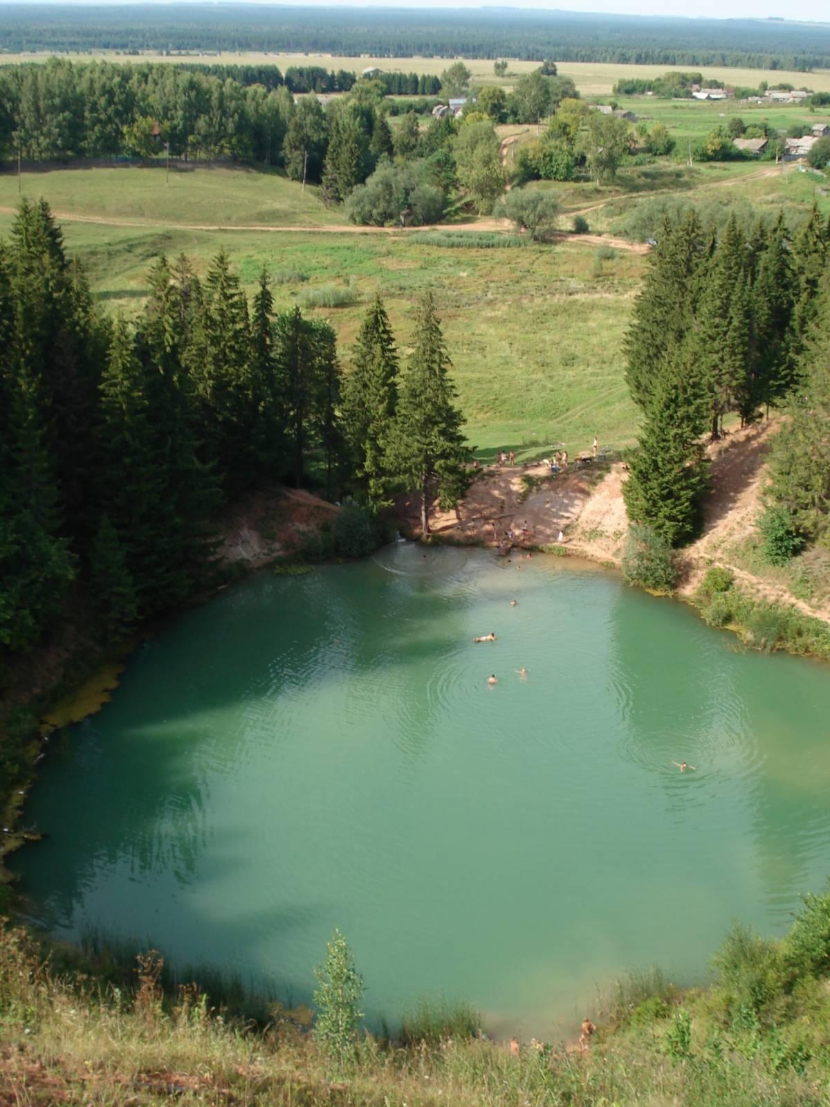 Священное озеро Мӱшылер