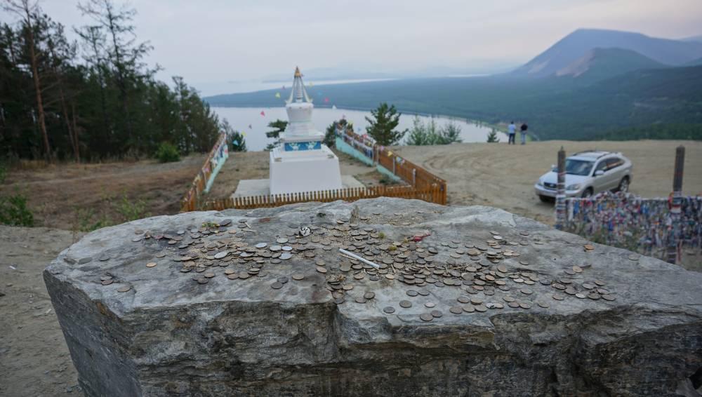 С видом на Байкал